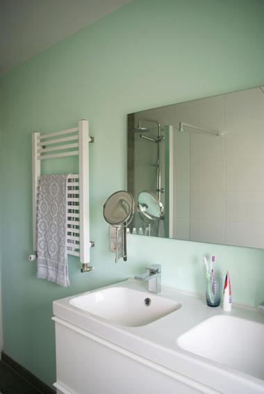 Beste Tegelverf Badkamer ~ Lotsofcolor kleuradvies Zeegroene badkamer